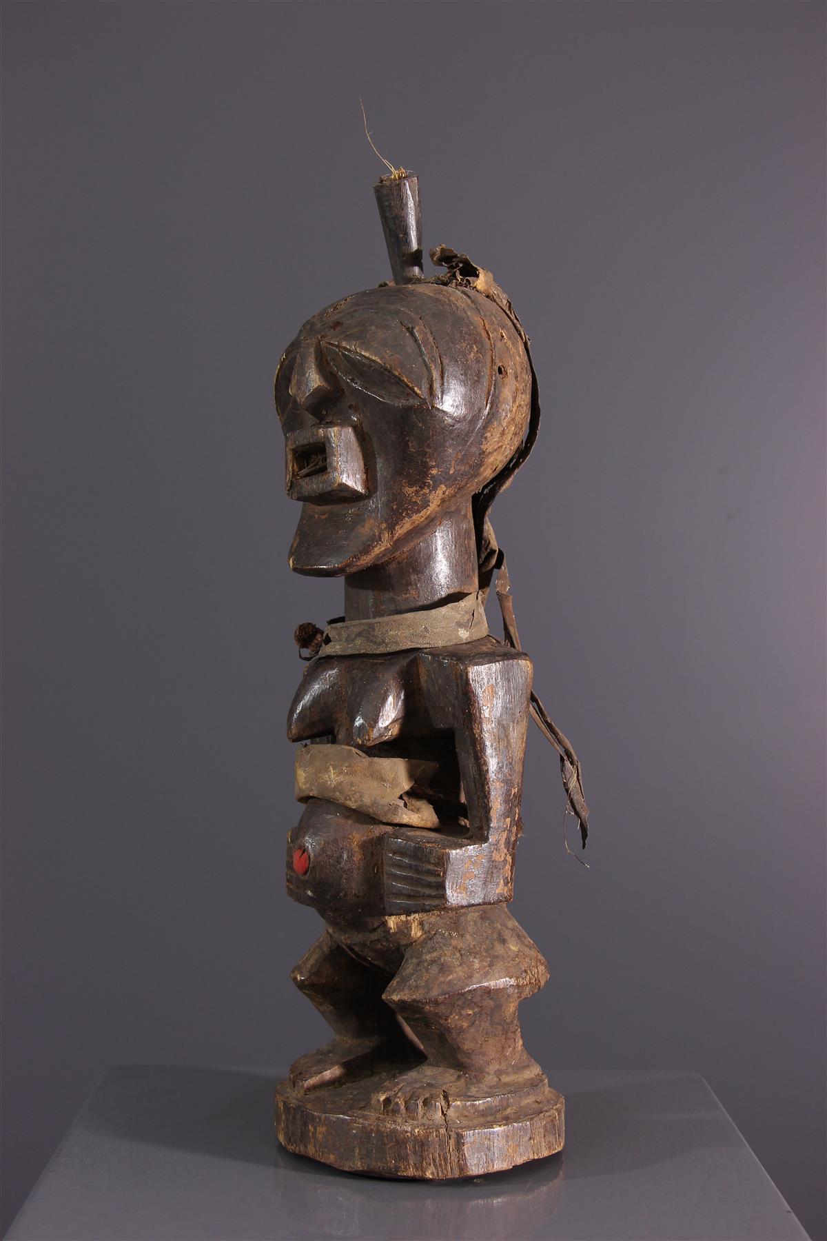 Statue Nkondi - Art africain
