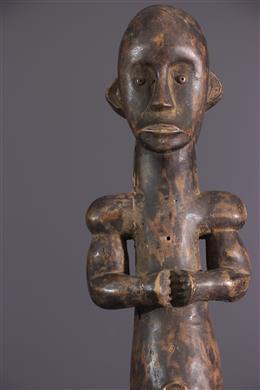 Statue masculine Fang du Byeri janiforme