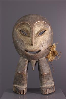 Statuette masque d initiation Lega