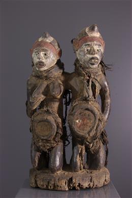 Figures de couple Nkisi Kongo
