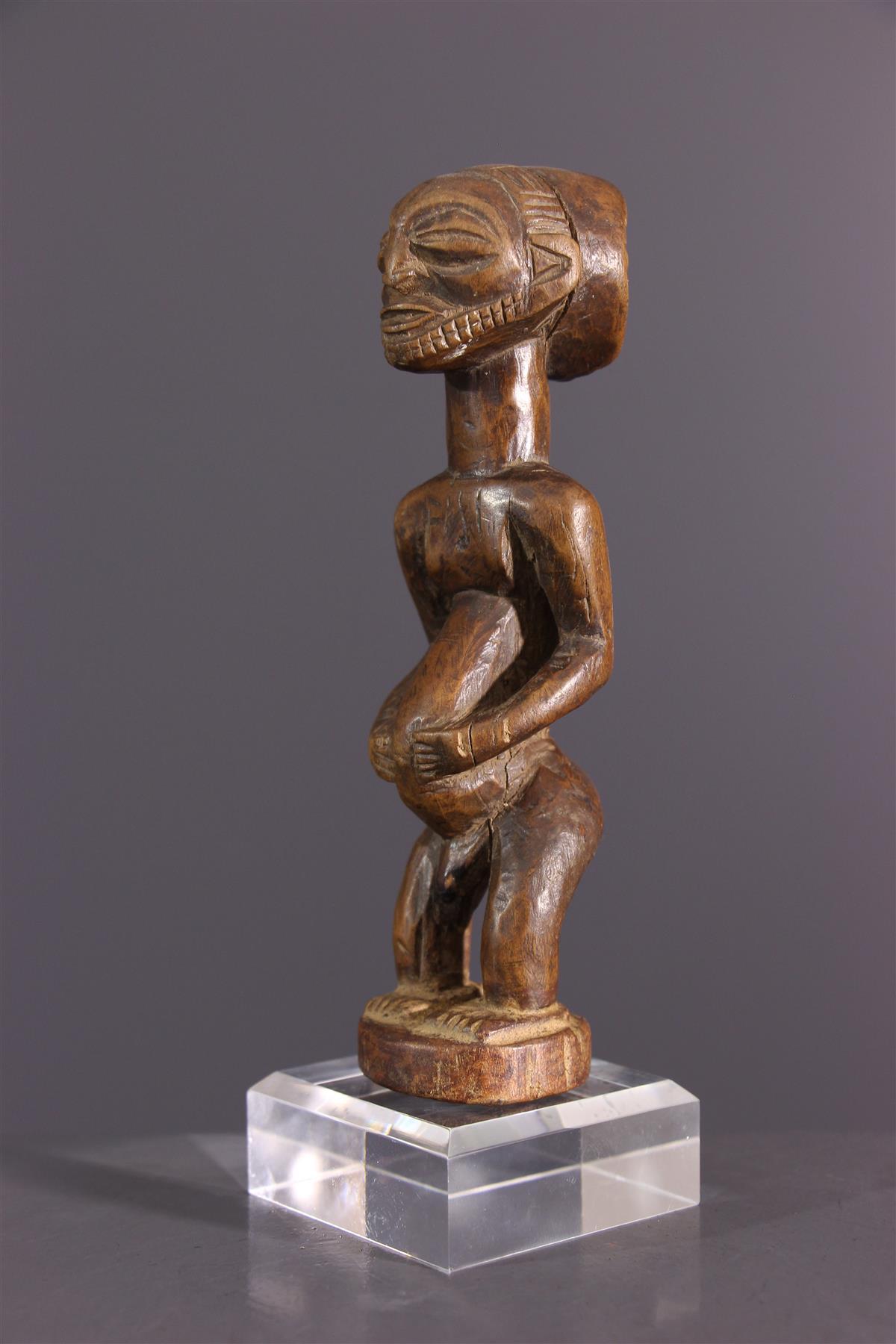 Figure d'ancêtre Hemba - Art africain