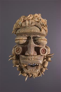 Art africain - Masque Guéré