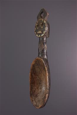 Cuillère Baoulé Kplé kplé
