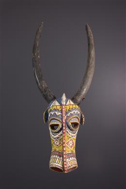 Masque facial polychrome Bozo