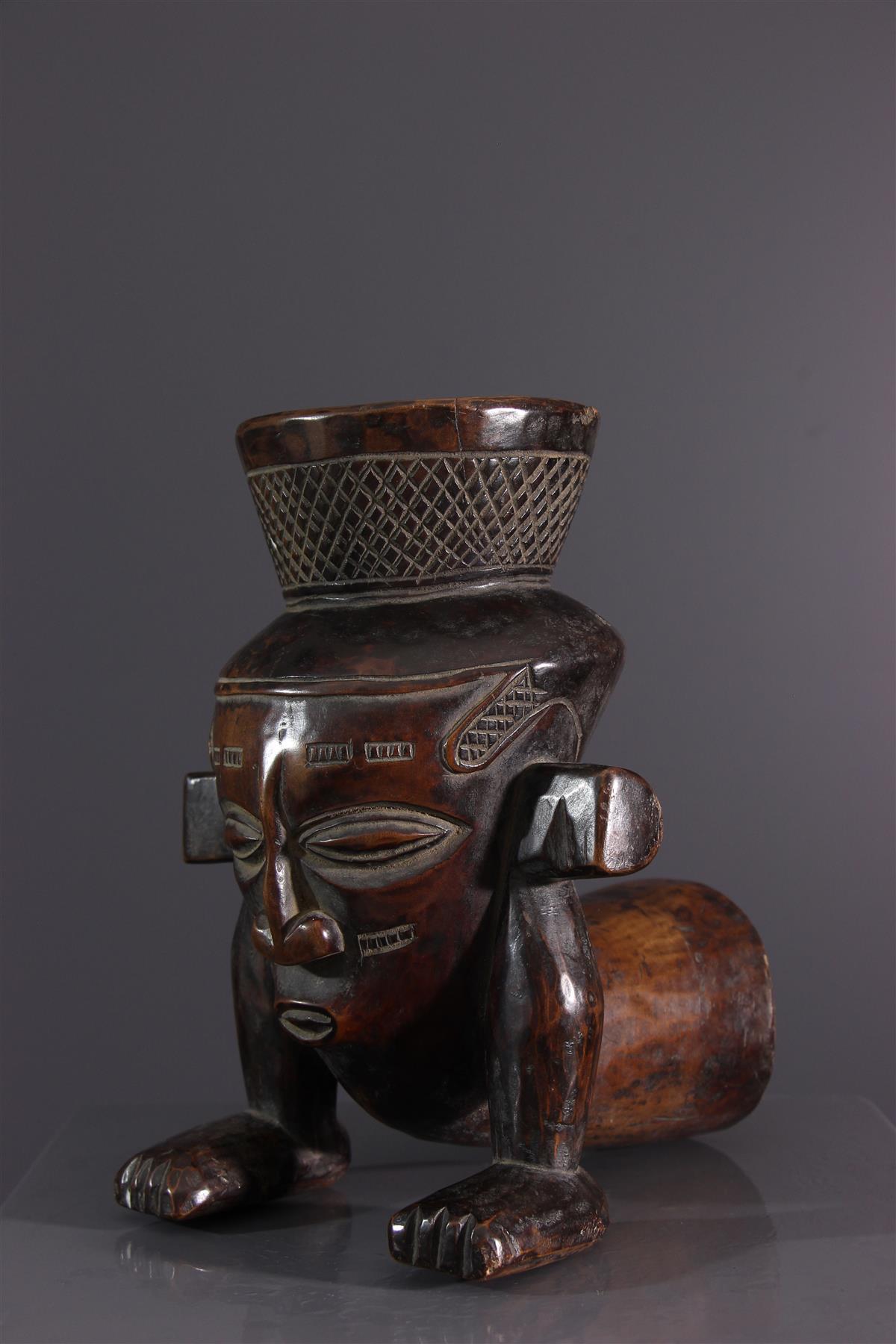 Vase Kuba - Art africain