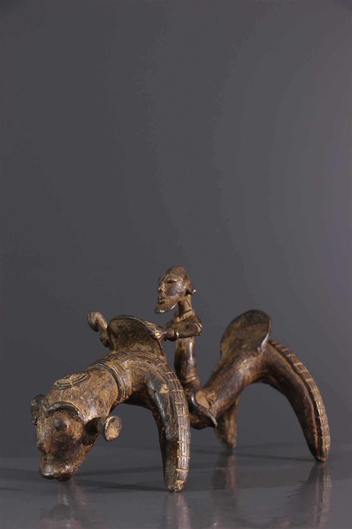 Cavalier Dogon - Art africain