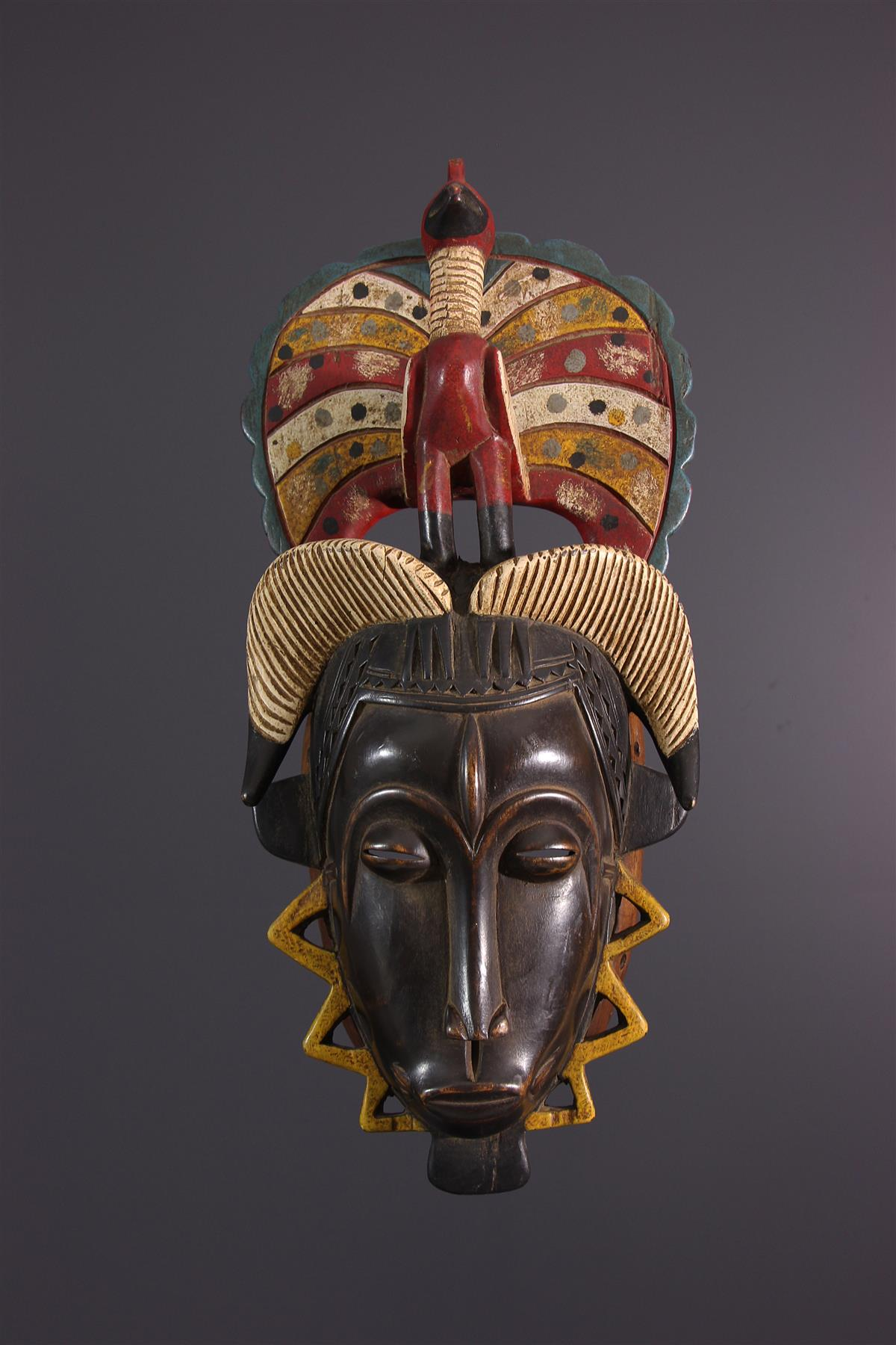 Masque Yaoure - Art africain