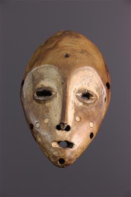 Masque africain Lukwakongo Lega
