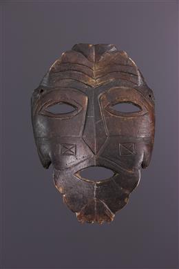 Masque Ndaaka en carapace de tortue
