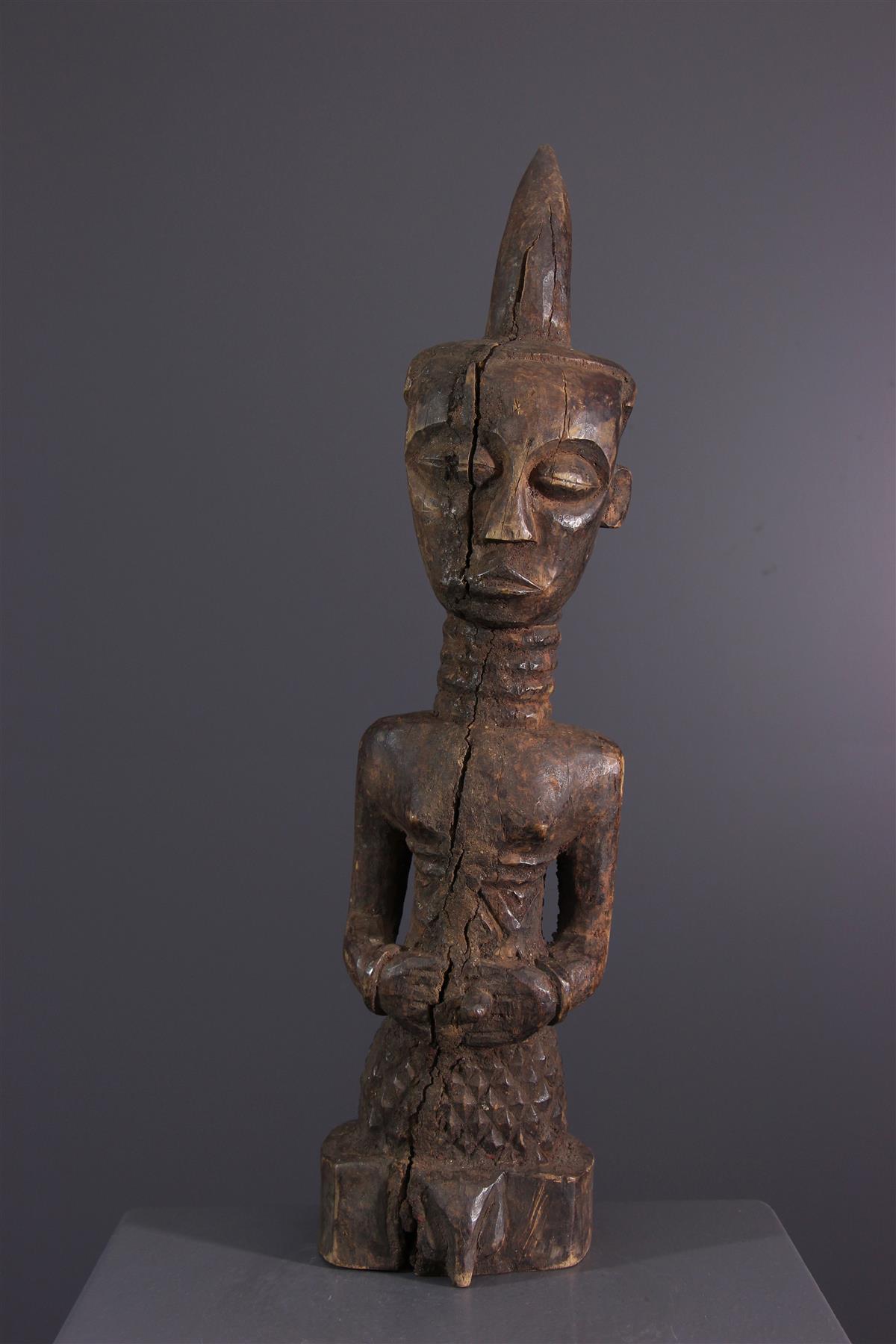Statue Ndengesé - Art africain