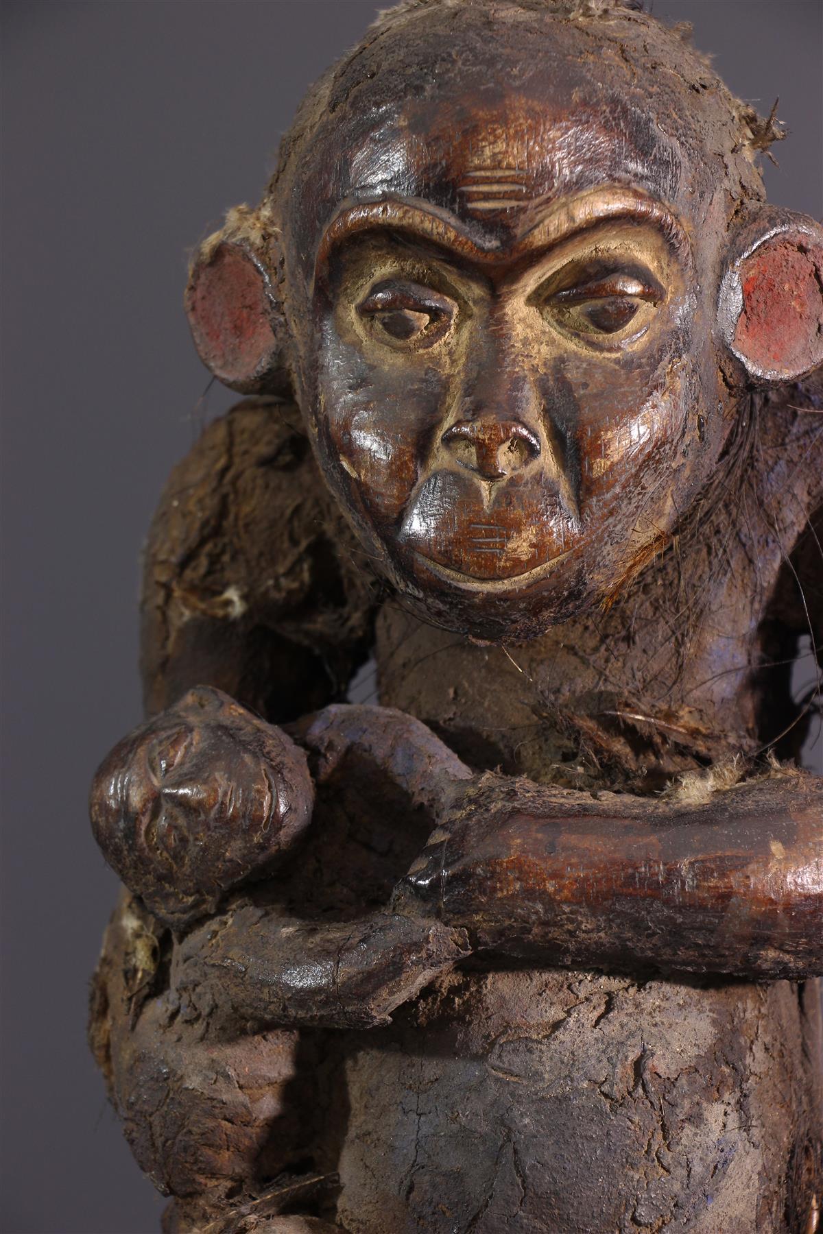 Statue Boulou - Art africain
