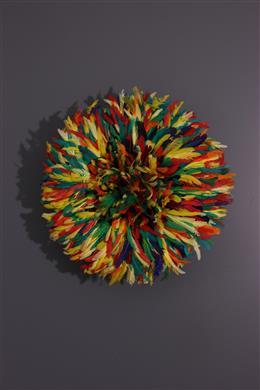 """Art africain - Coiffe de cérémonie Bamileke """"Juju Hat"""""""