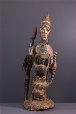 Art africain - Figure de cavalier Yoruba Sango