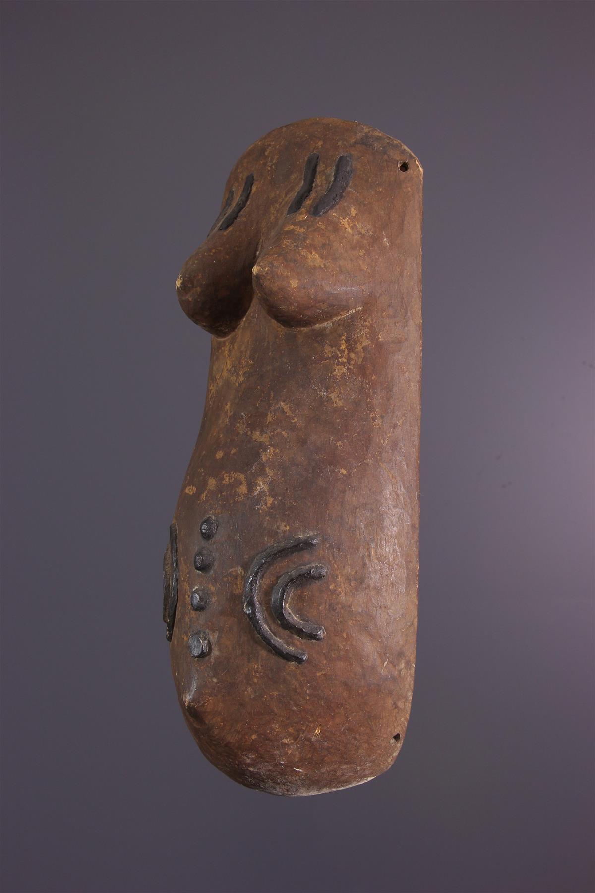 Masque Makonde - Art africain