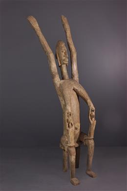 Art africain - Figure dautel Dogon Tellem