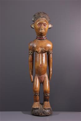 Figure d ancêtre  Chokwe, Lunda