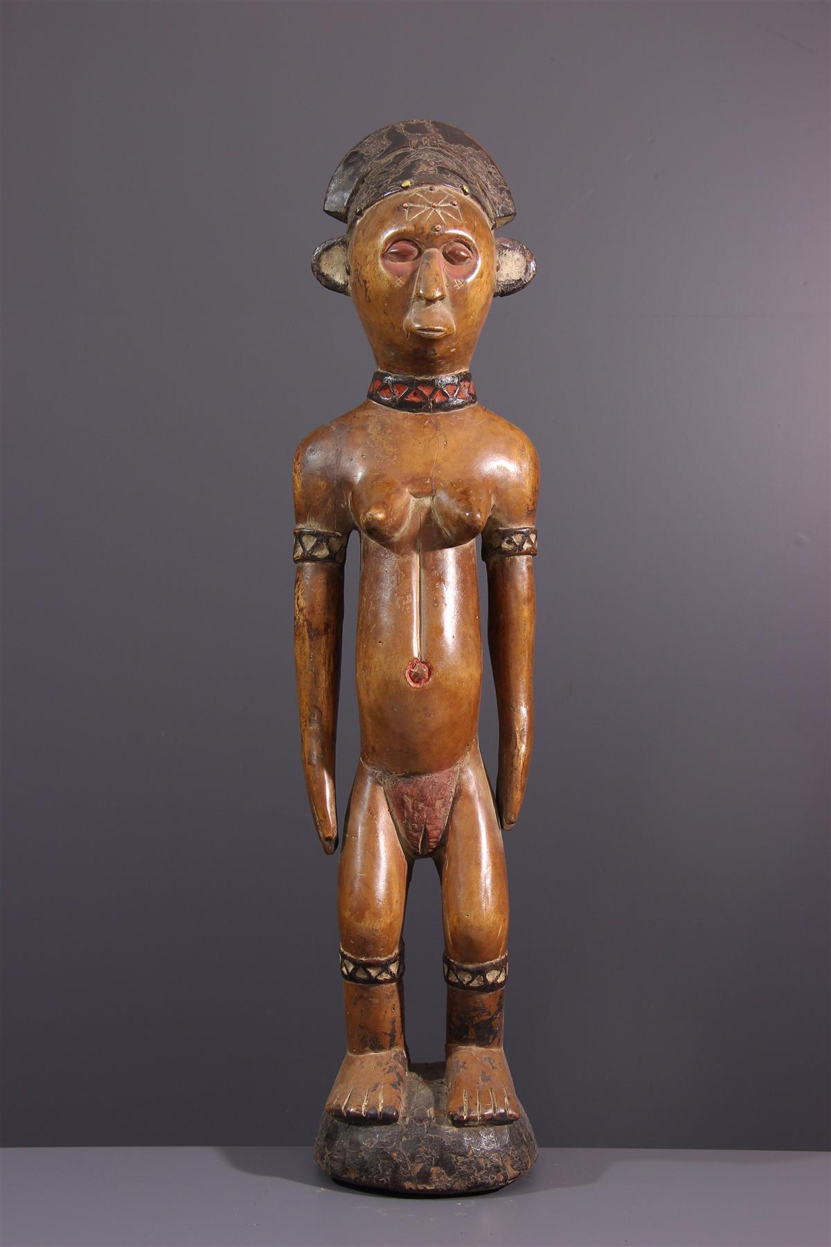 Statue Tschokwe - Art africain