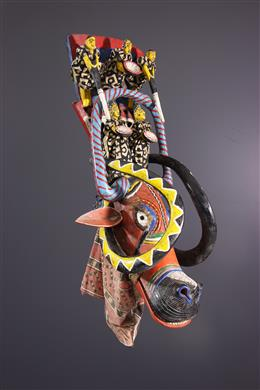 Masque marionnette Bozo