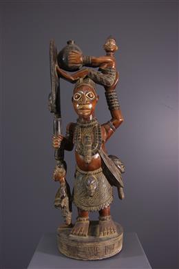 Figure d autel Yoruba
