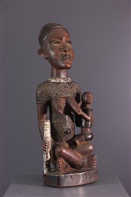 Figure de maternité Phemba Yombé