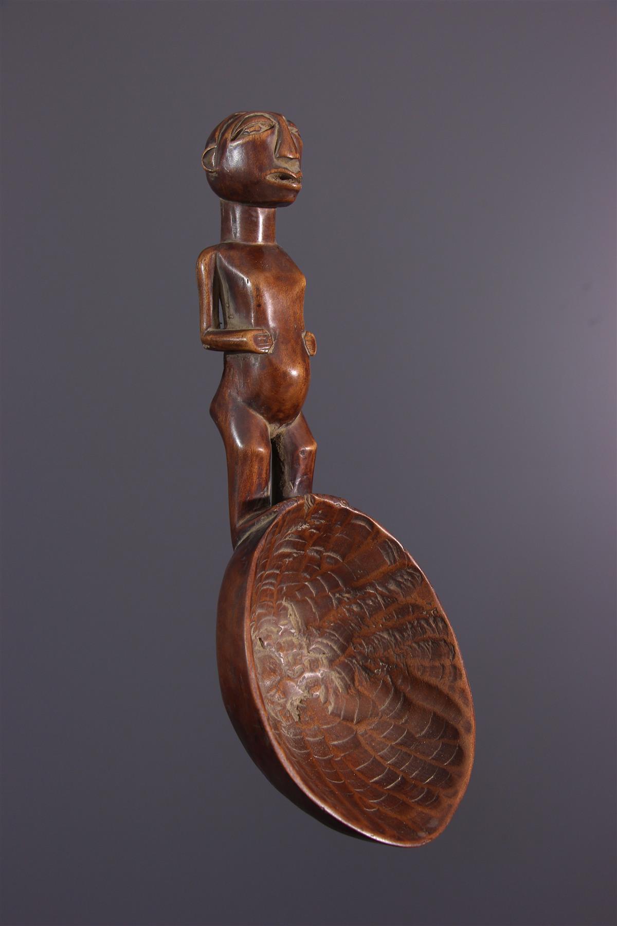 Cuillère Hemba - Art africain