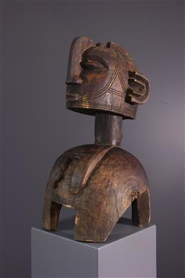 Art africain - Masque Baga Nimba