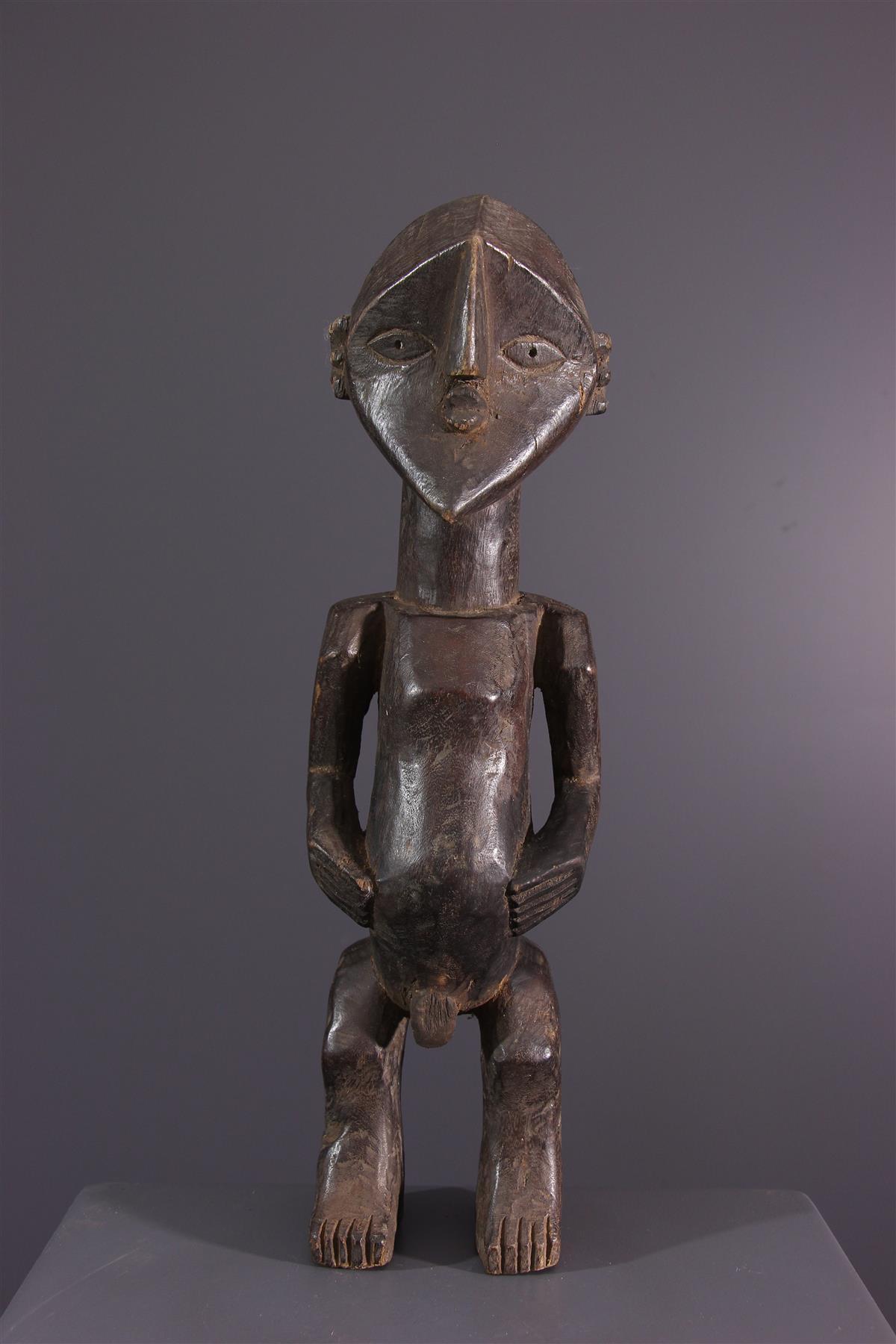 Statue Lwalwa - Art africain