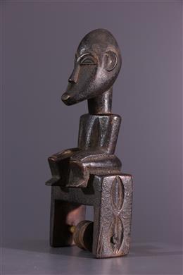 Art africain - Poulie de métier à tisser Baule
