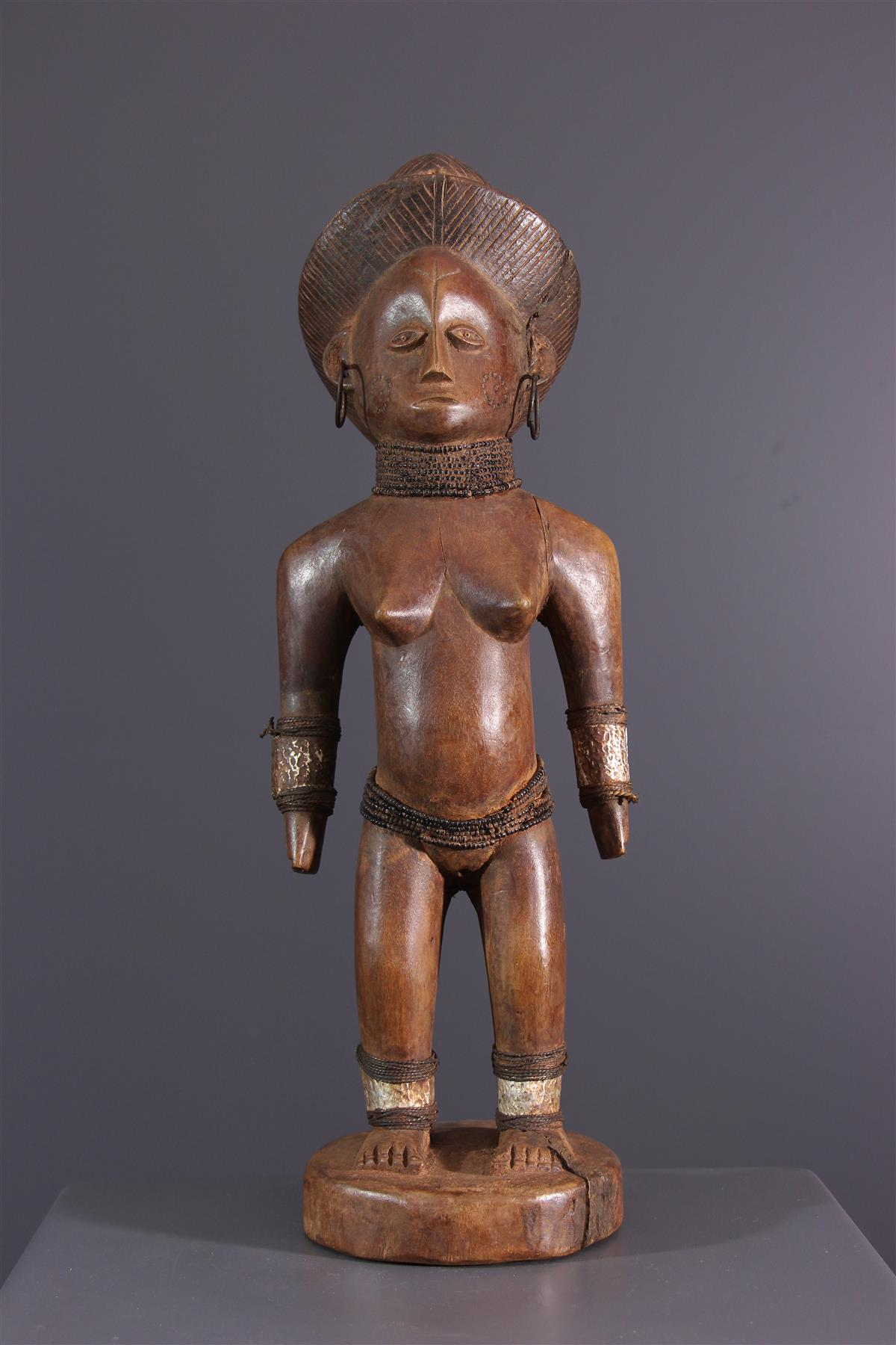 Figure OviMbundu - Art africain