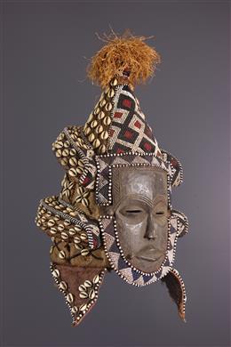 Masque heaume Lele / Ngeendé