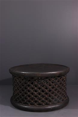 Grand tabouret table Bamileke