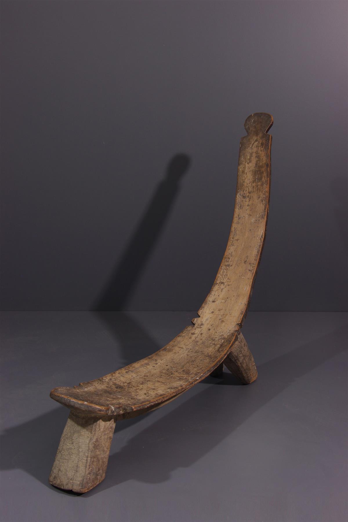 Chaise Lobi - Art africain