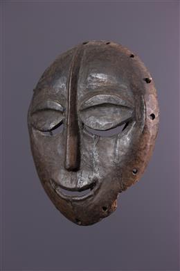 Masque lune Baoulé