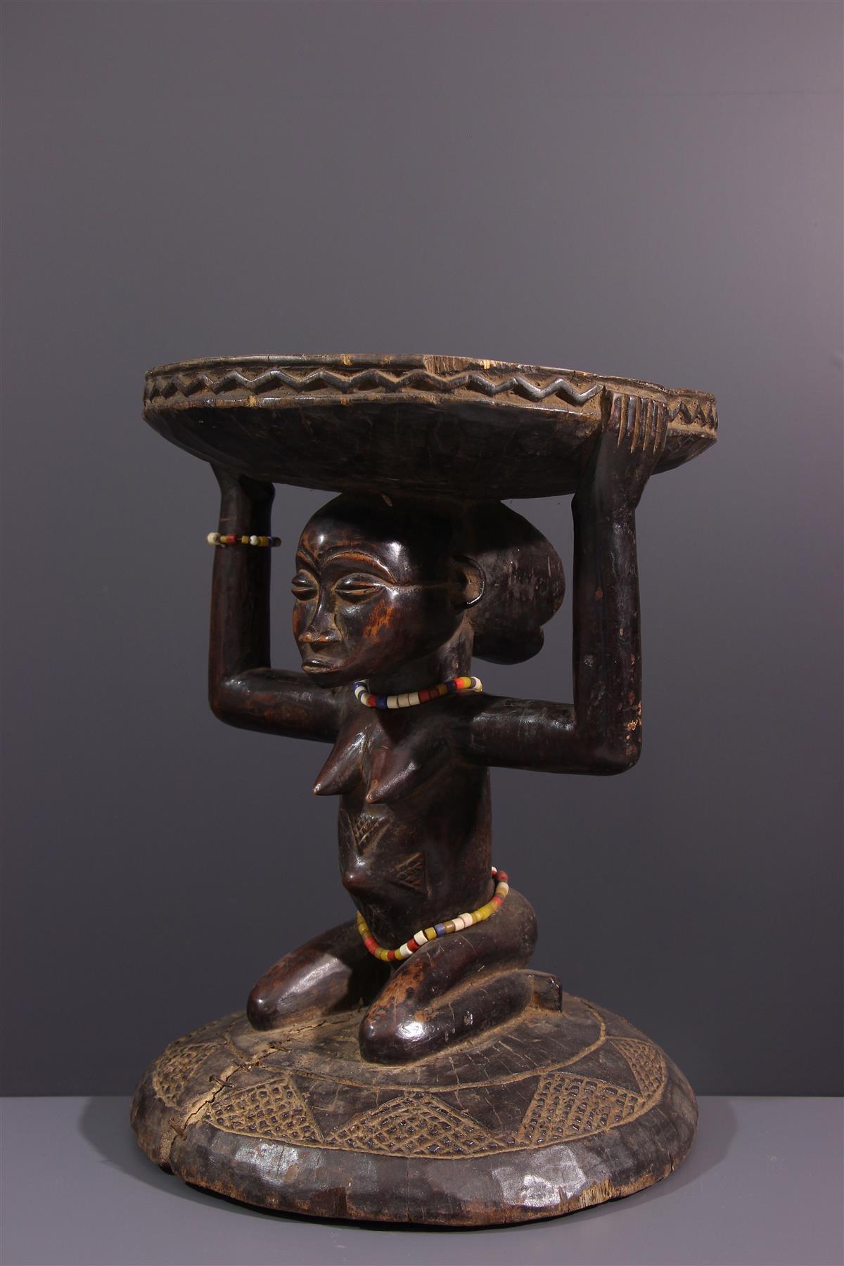 Tabouret Kipona - Art africain