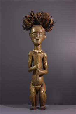 Art africain - Grande statue Fang de reliquaire  Byeri