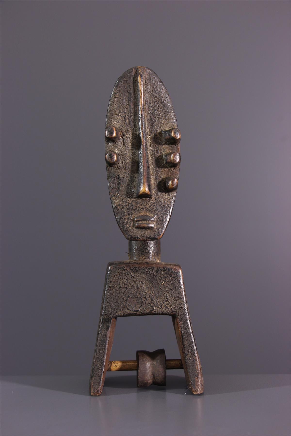 Poulie Kru - Art africain