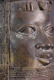 bronze africainTête Bénin