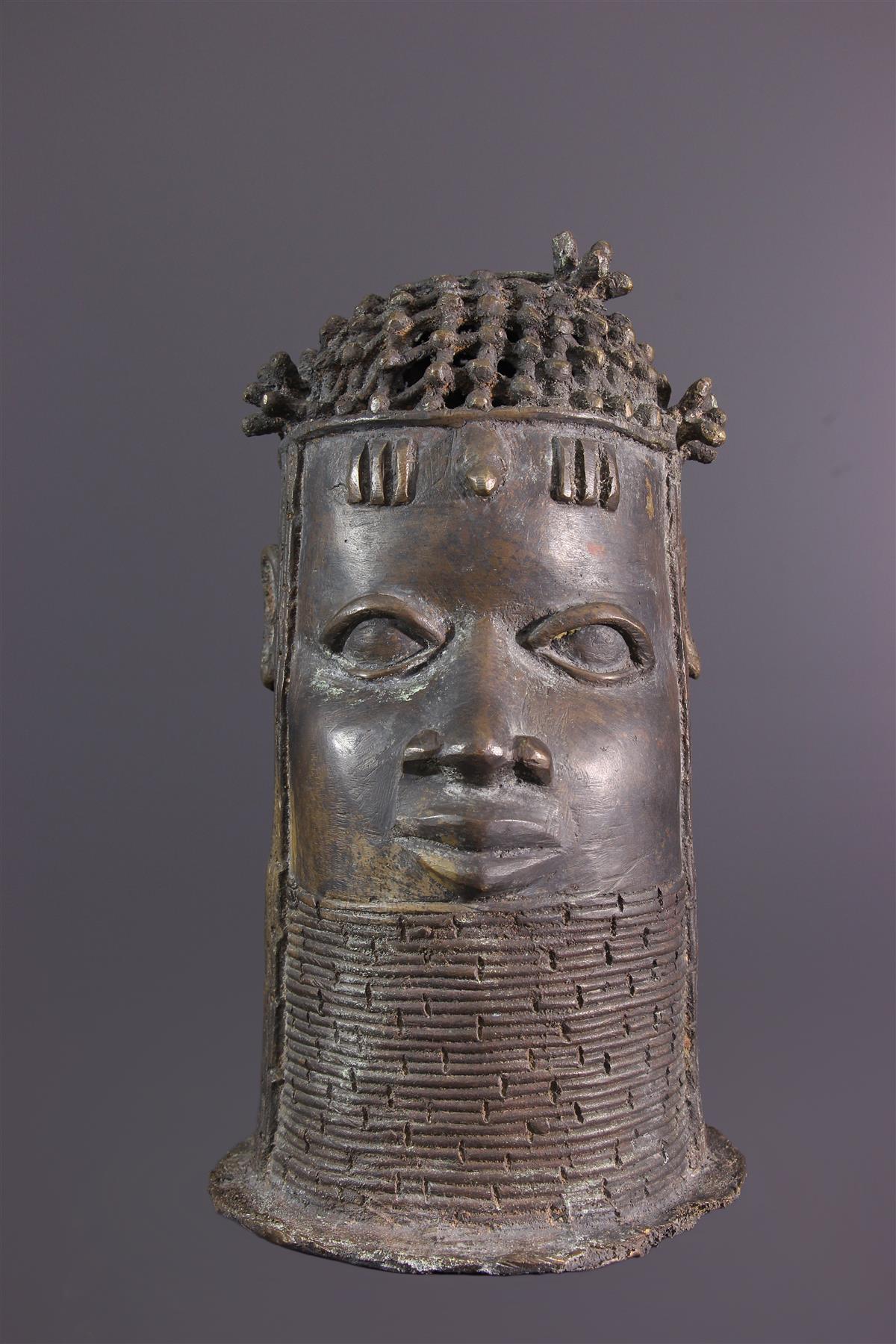 Tête Bénin - Art africain