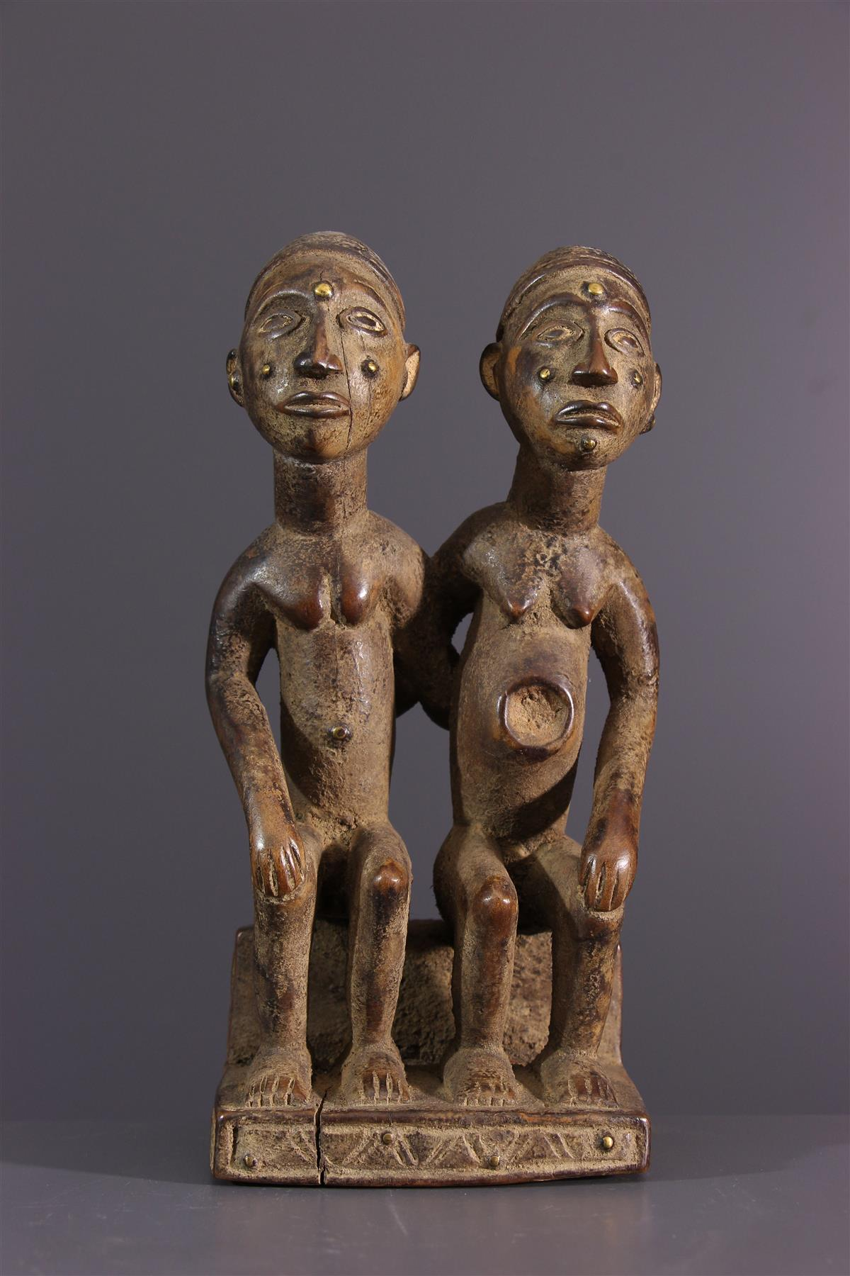 Statues Yombé - Art africain