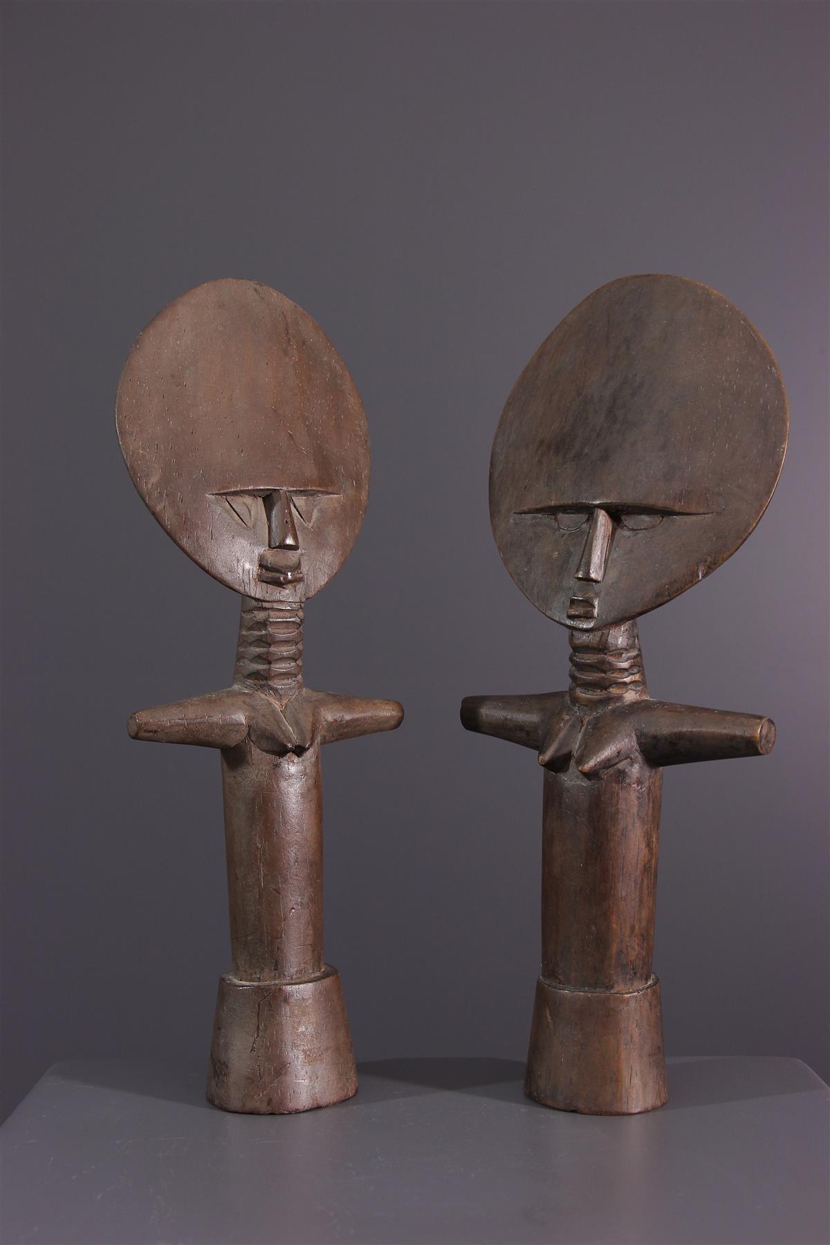 Poupées Ashanti - Art africain