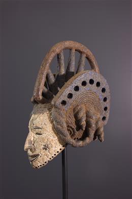 Art africain - Masque Igbo Agbogo Mmwo