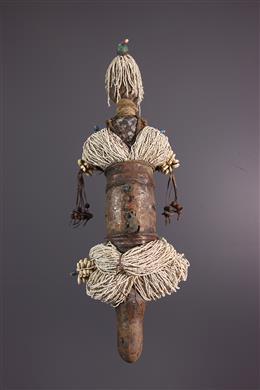 Poupée statue de fécondité Zulu