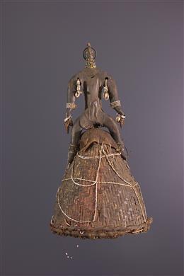 Art africain - Chapeau rituel Namchi, Namji