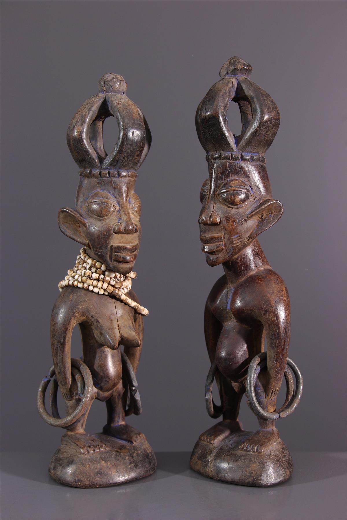 Statuettes Yoruba - Art africain