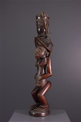 Statue porteuse de coupe Chokwe