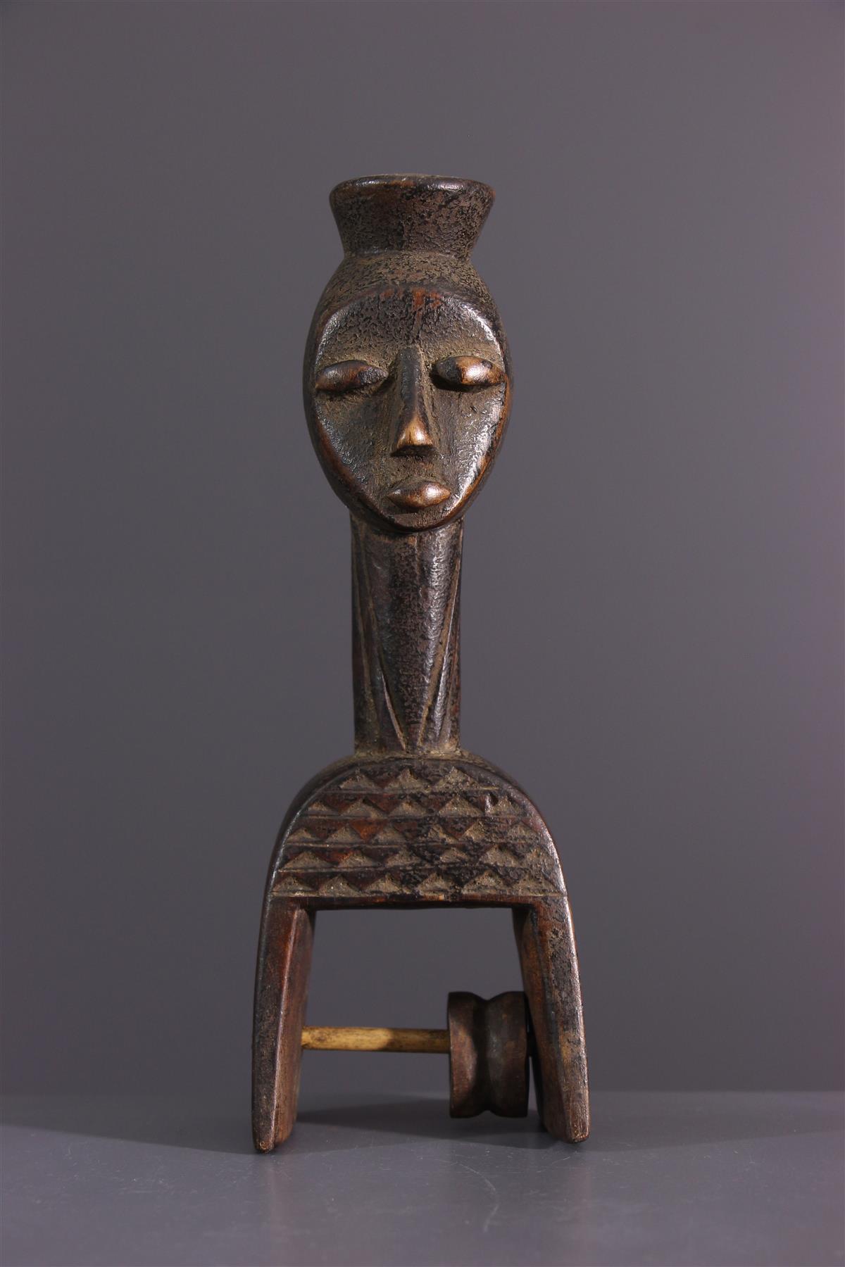 Poulie Baoulé - Art africain
