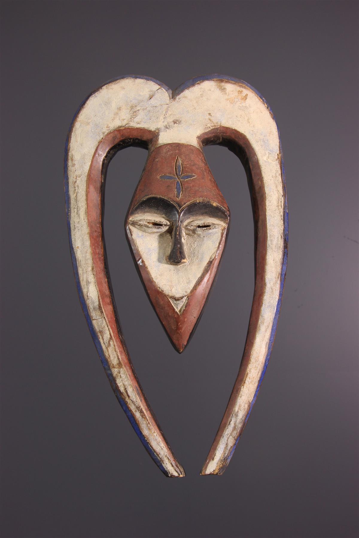 Masque Kwele - Art africain