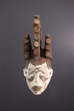 Masque cimier Igbo Ikorodo