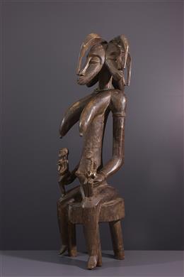 Statue de maternité Senoufo du Poro