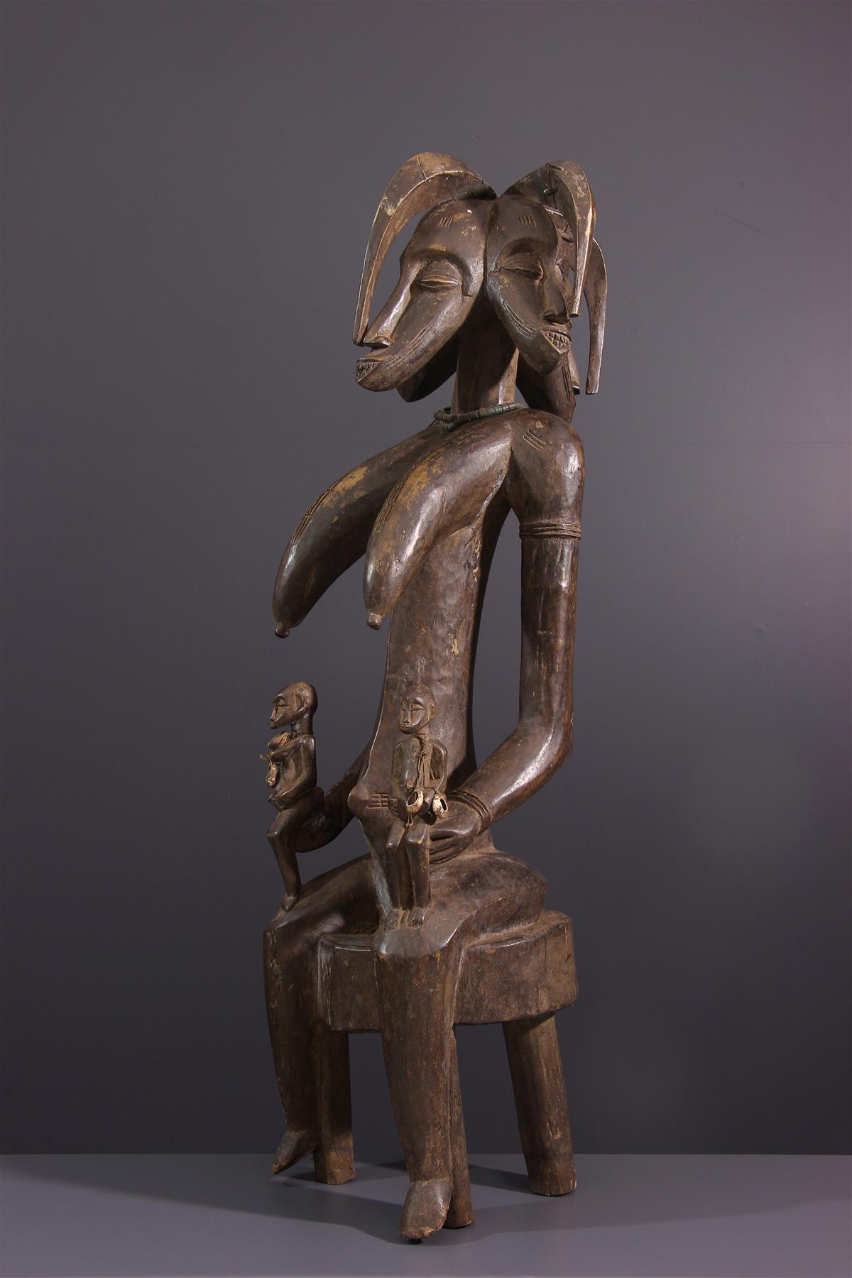 Maternité Senufo - Art africain